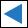 Wegzeichen blaues Dreieck (links)