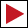 Wegzeichen rotes Dreieck (rechts) HW1 HW2