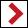 Wegzeichen roter Winkel (rechts)