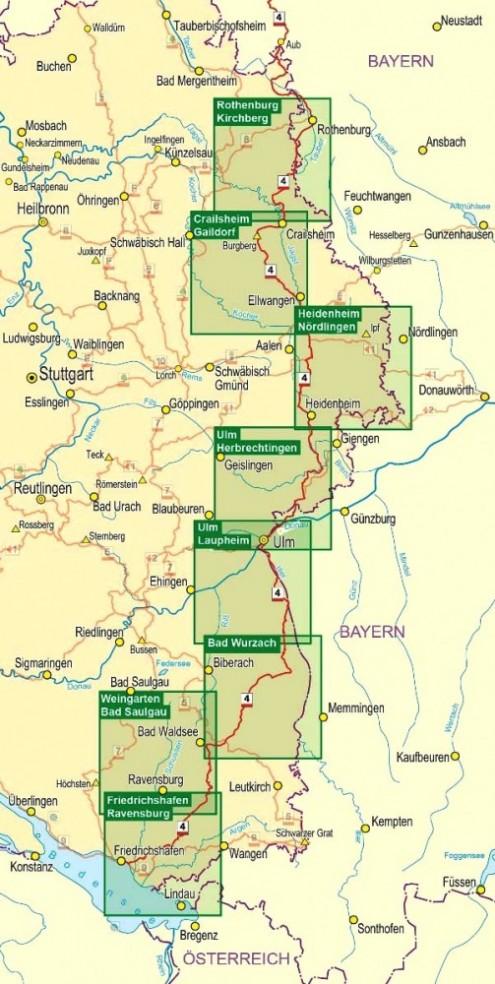 Wanderkarten-HW4 (1:35.000)