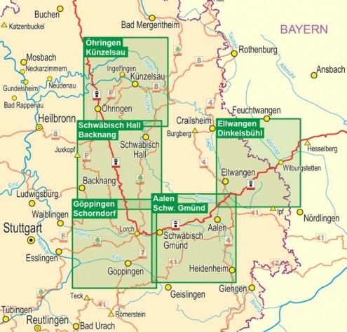 Wanderkarten-HW6 (1:35.000)